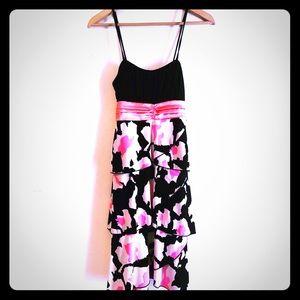 Taboo medium little black party dress pink